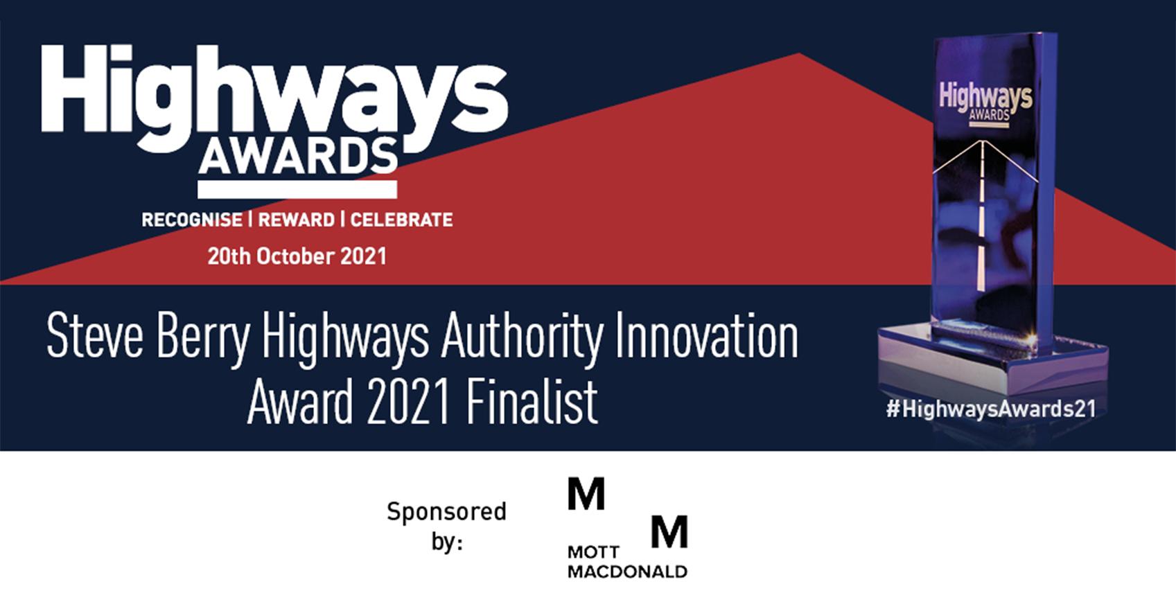 XAIS nominated for Highways Award